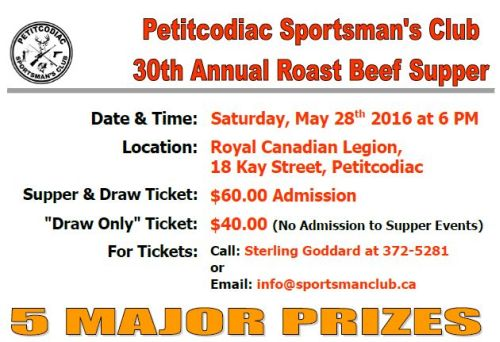 2016 PSC Supper Event